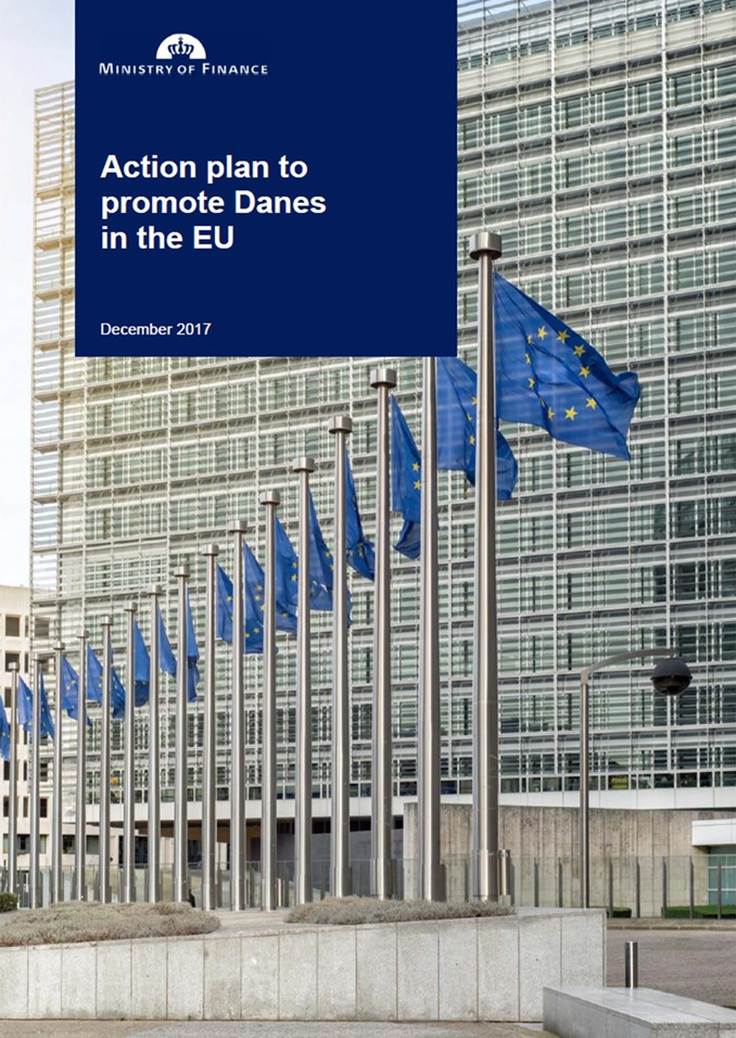 Action plan to promote Danes in the EU