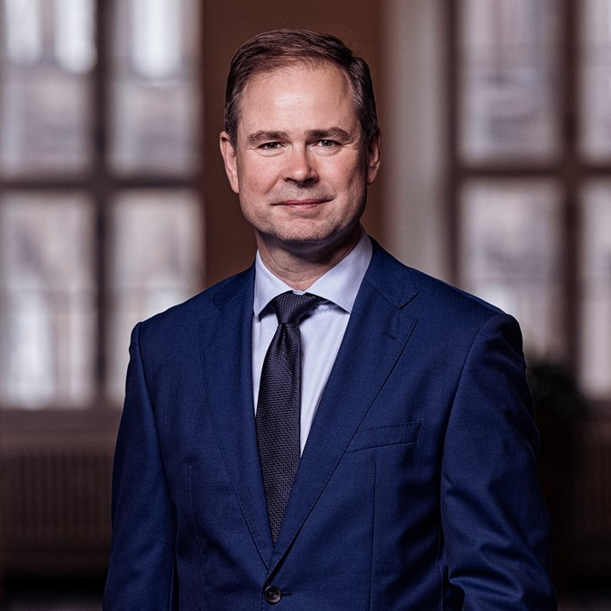 Minister for Finance Nicolai Wammen